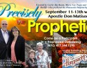 Join Us for Precisely the Prophetic September 11-13 in Branson